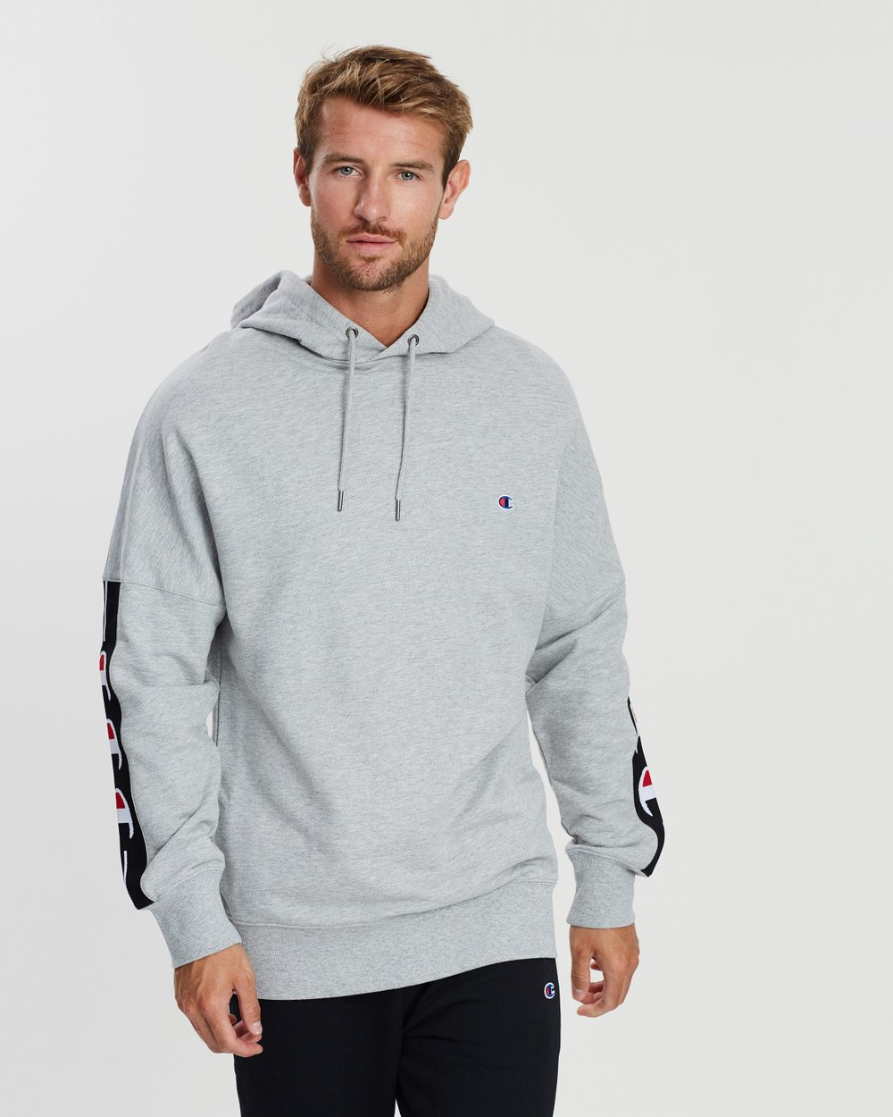 77680015b ID Collection Tape Hoodie by Champion Online