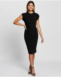 Atmos&Here - Grace Gathered Midi Dress