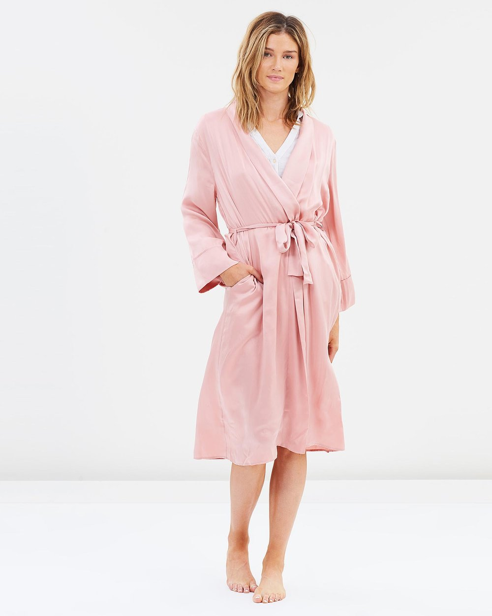 97d399739d Pure Silk Robe by Papinelle Online