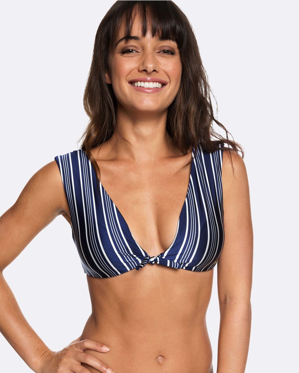 Roxy Womens Urban Waves Elongated Tri Separate Bikini Top Bikini Tops MEDIEVAL BLUE SWIM V Womens Urban Waves Elongated Tri Separate Bikini Top