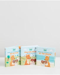 Mizzie The Kangaroo - Books, Books, Books - Baby Gift Set