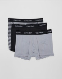 Calvin Klein - 3-Pack Cotton Stretch Trunks