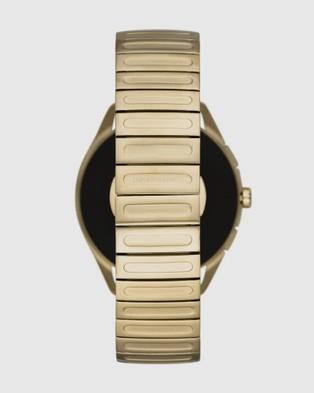 Emporio Armani Gold Tone Smartwatch - Smart Watches (Gold-Tone)