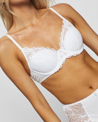 Bendon Full Coverage Contour Bra - Underwire Bras (White)