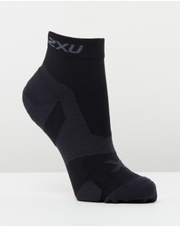 2XU - Vectr Cushion 1/4 Crew Socks