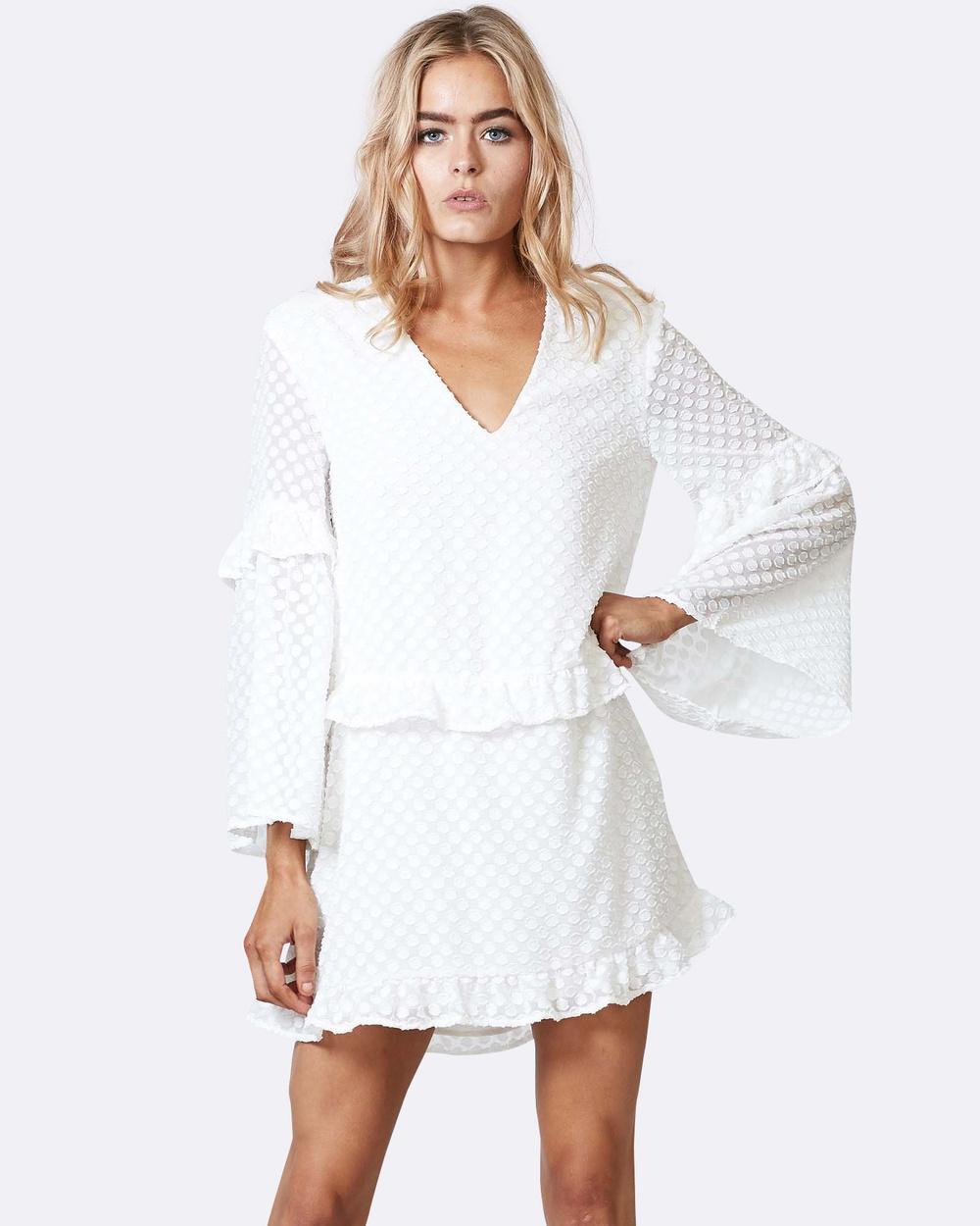 Three of Something Pavillion Dress Dresses WHITE Pavillion Dress