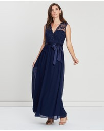 Dorothy Perkins - Mila Sequin V-Neck Maxi Dress