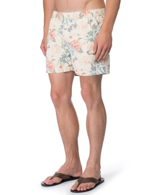 Staple Superior – Fashion Swim Short – Swimwear (Floral Print)