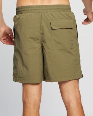 Lyle and Scott Plain Swim Shorts - Swimwear (Lichen Green)