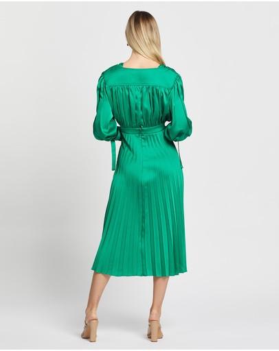 Nicola Finetti Eliana Dress Emerald