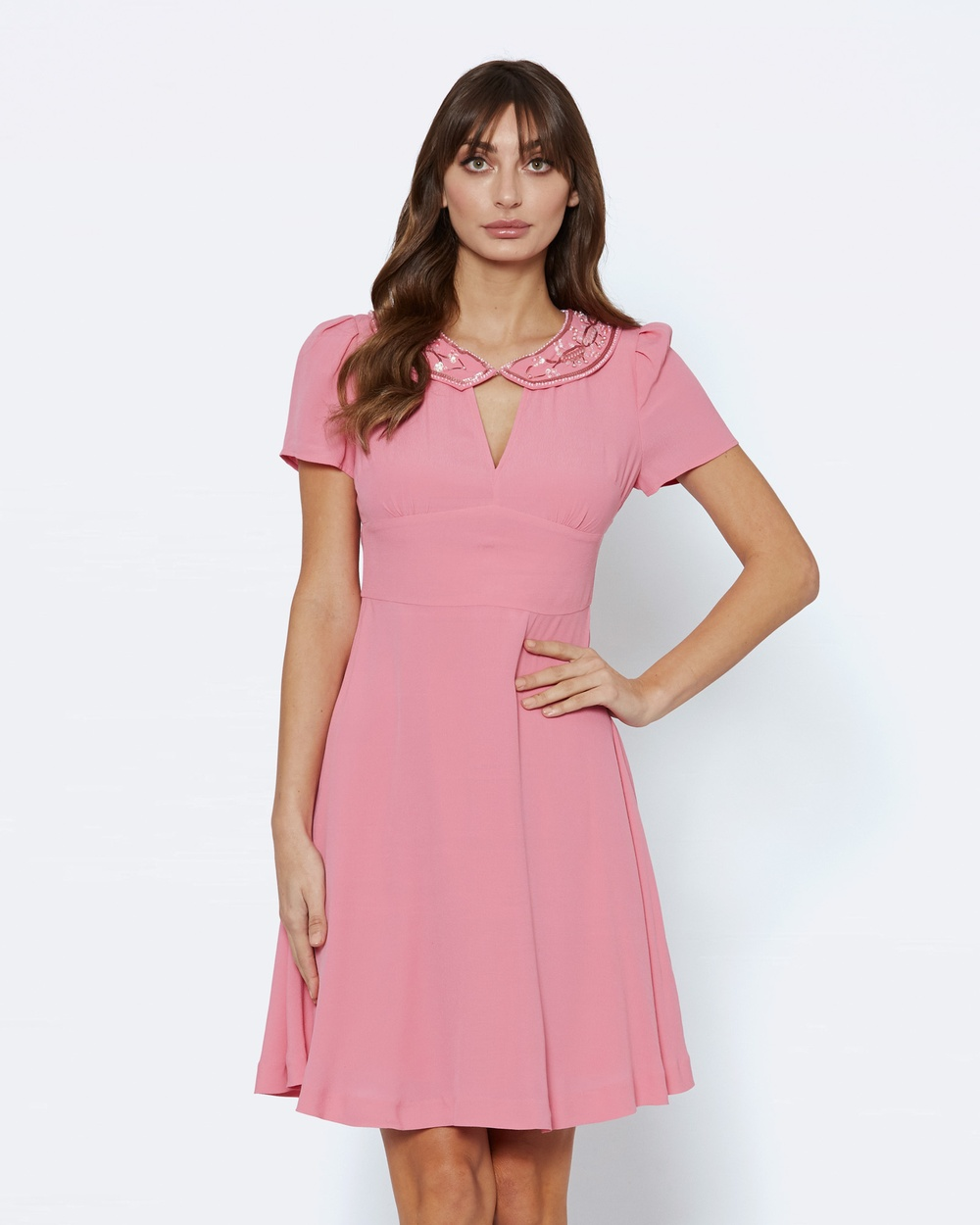 Alannah Hill Beautiful Dreams Dress Dresses Pink Beautiful Dreams Dress