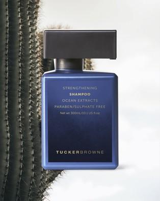 Tucker Browne Strengthening Shampoo - Beauty (Blue)