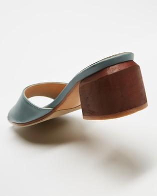 JAMES   SMITH Cremona Midi - Mid-low heels (Baby Blue)