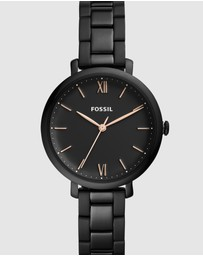 Fossil - Jacqueline Black Analogue Watch