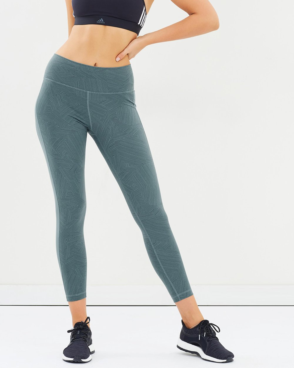 90d46337d7f1c Believe This High-Rise Wanderlust Tights by adidas Performance Online | THE  ICONIC | Australia