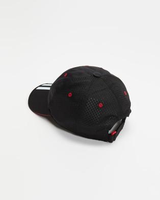 adidas Performance Mesh Cap   Kids Teens - Headwear (Black & White)