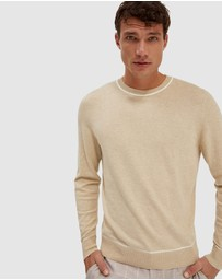 SABA - Bronx long sleeve crew knit