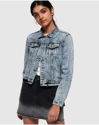 Superdry - Denim Girlfriend Jacket