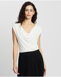 David Lawrence - Cowl Neck Top