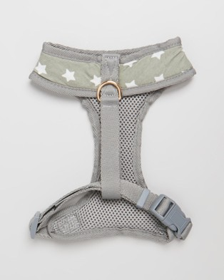 The Pup Club Star Harness - Pets (Grey)