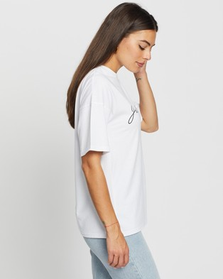Atmos&Here Just Be You Tee - T-Shirts & Singlets (White)