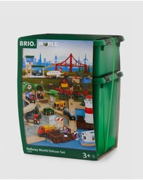 BRIO - Railway World Deluxe Set 106 Pieces