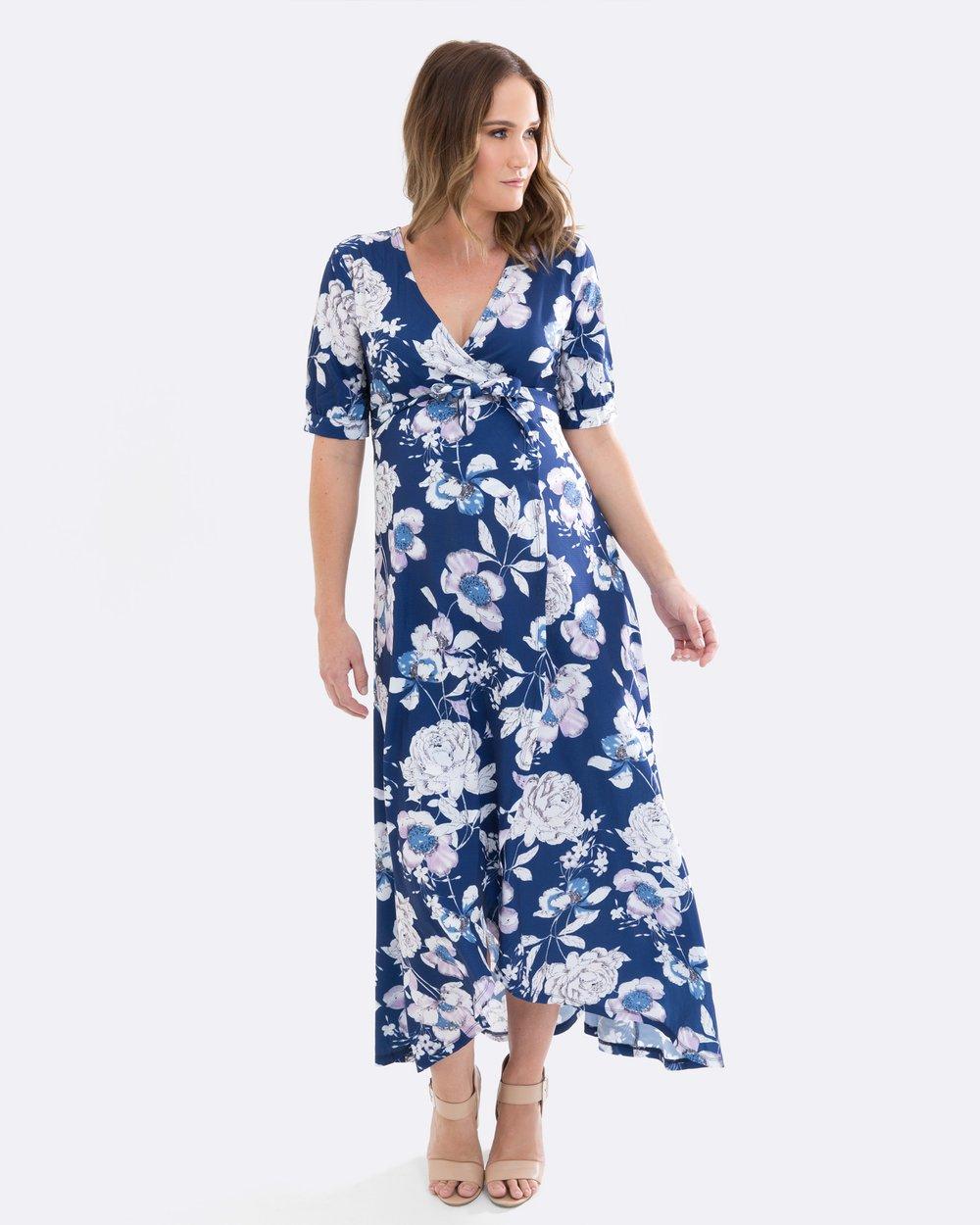 40bd2b046b48a Harlow Wrap Maternity & Nursing Dress by Maive & Bo Online   THE ICONIC    Australia