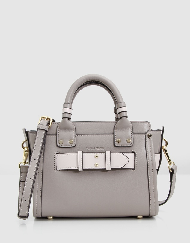 Belle & Bloom - Ally Leather Satchel Bag