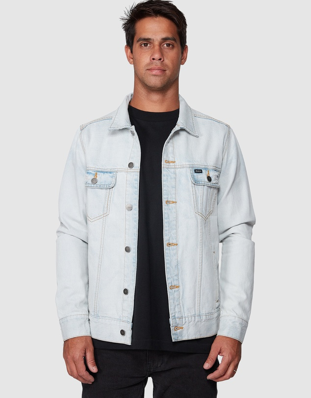RVCA - Rvca Distressed Denim Jacket