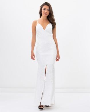 Romance by Honey and Beau – Theresa Maxi Dress White