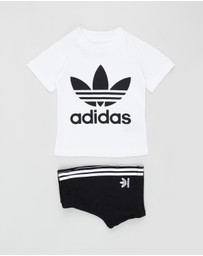 adidas Originals - Trefoil Shorts Tee Set - Babies