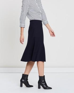 Sportscraft Cynthia Ponte Skirt - Skirts (blue)