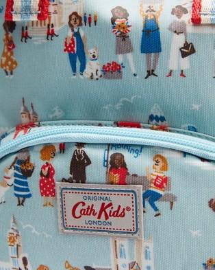 Cath Kidston Medium London People Backpack   Kids - Backpacks (Powder Blue)