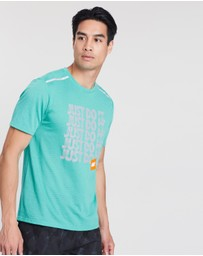 Nike - Breathe Rise 365 SS Running Top