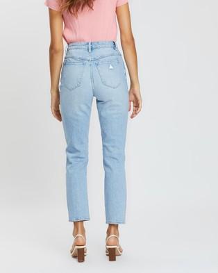 Abrand A '94 High Slim Jeans - Slim (Gina Rip)