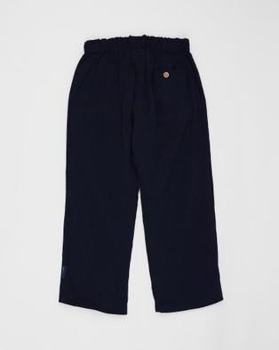 Pappe Sailor Lightweight Pants   Babies Kids - Pants (Navy)