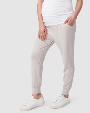 Pea in a Pod Maternity Jaya Slouch Pants - Sweatpants (Lychee)