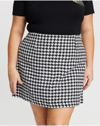 Atmos&Here Curvy - ICONIC EXCLUSIVE - Bella Mini Skirt