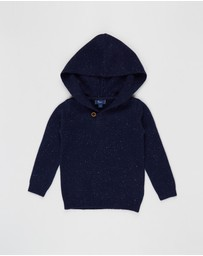Pappe - Chesney Hooded Sweater - Babies-Kids