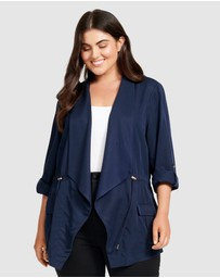 Forever New Curve - Eliza Curved Mid Length Jacket