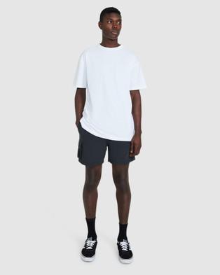 Spencer Project Trek Shorts - Swimwear (BLACK)