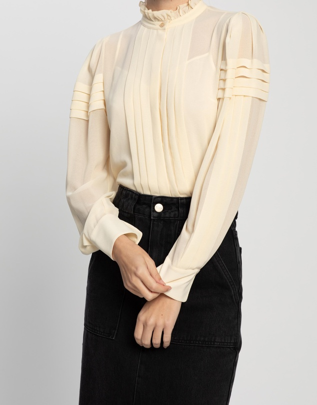 See By Chloé - Puff-Shoulder Blouse