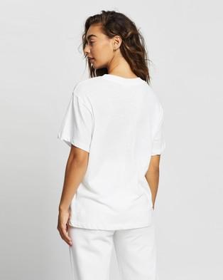 Rolla's Tomboy Beach Club Tee - T-Shirts & Singlets (White)
