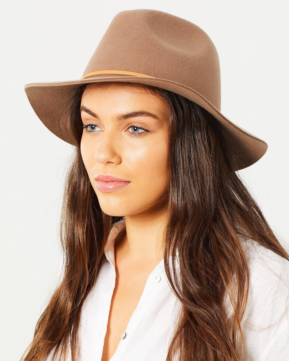 7dc7a5ff80982 Wesley Fedora by Brixton Online