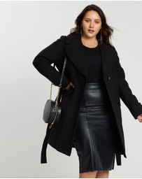 DP Curve - Wrap Belted Coat