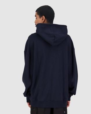 Huffer Men's Premiere Hood - Hoodies (Blue)