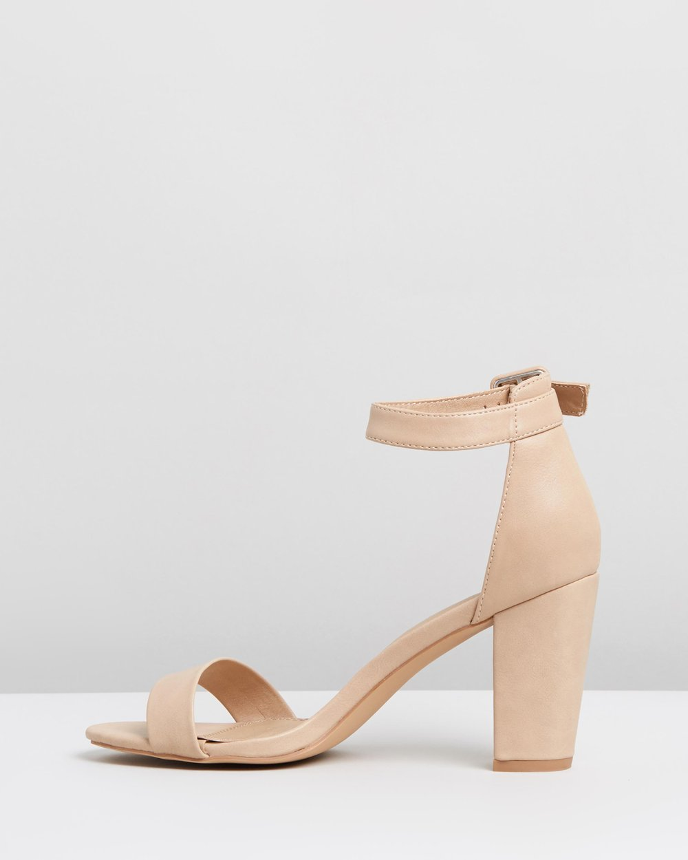 567a7d3c1e05 Clara Block Heels by SPURR Online