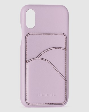 The Horse iPhone X   XS   The Scalloped iPhone Cover - Tech Accessories (Lavender iPhone X / XS)
