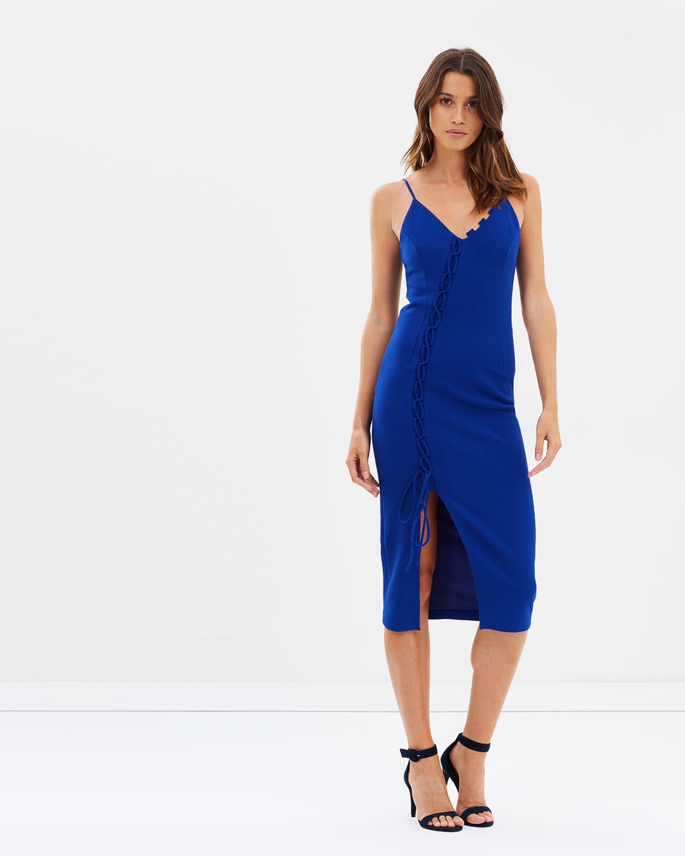 Asilio Arnoux Loop and Tie Dress Dresses Cobalt Arnoux Loop and Tie Dress