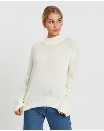 Atmos&Here - Avril Relaxed Knit Sweater